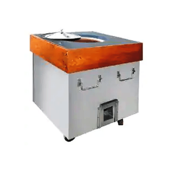 ss tandoor with wooden top by het singh prajapati